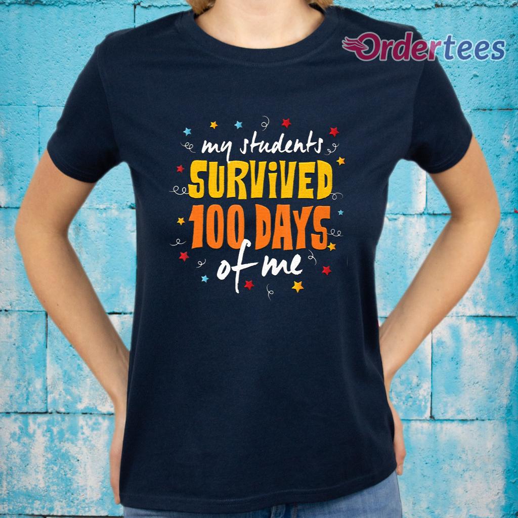 100 Days Of School Teacher T-Shirt - 2