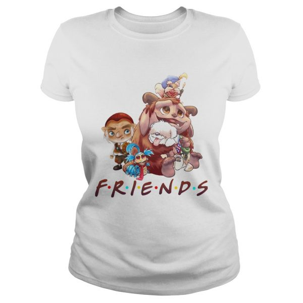 Labyrinth Characters Friends shirt - 2