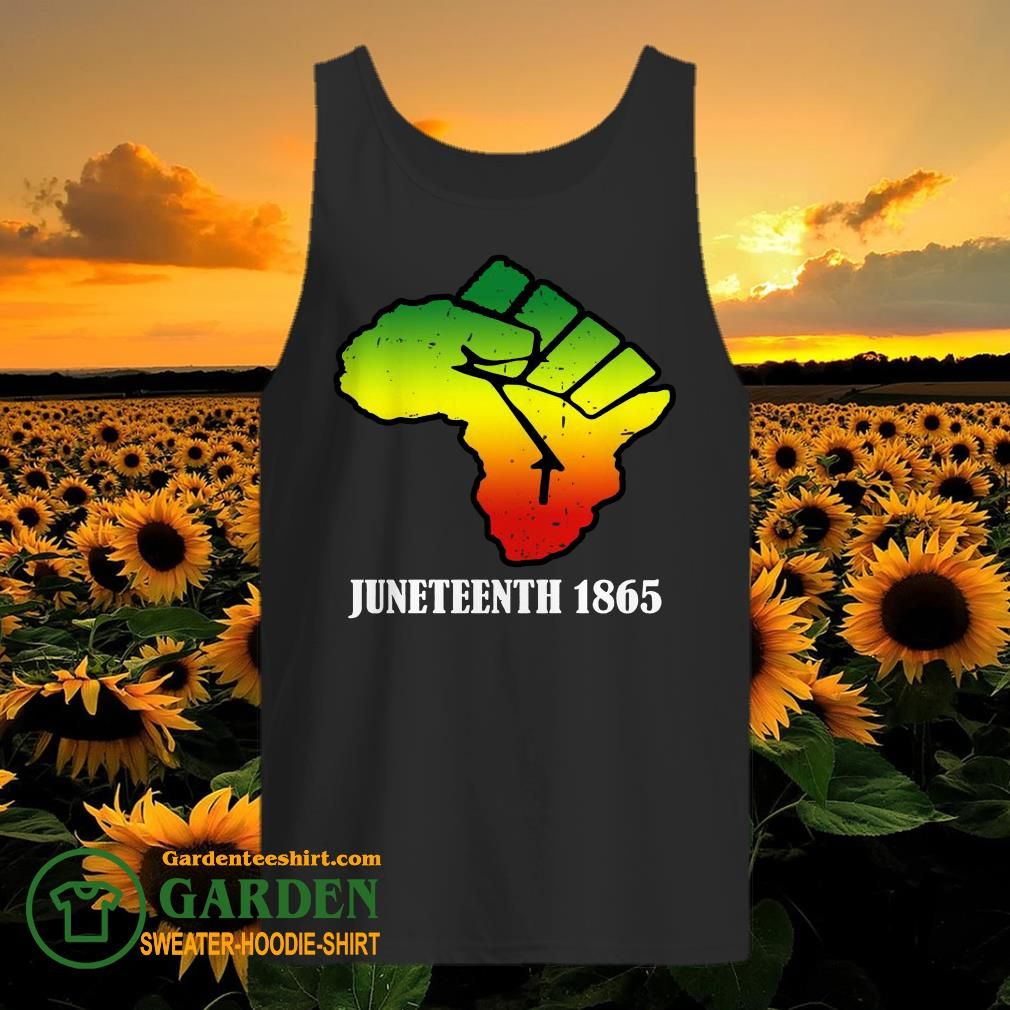 Africa Black Lives Matter Juneteenth 1865 shirt - 2
