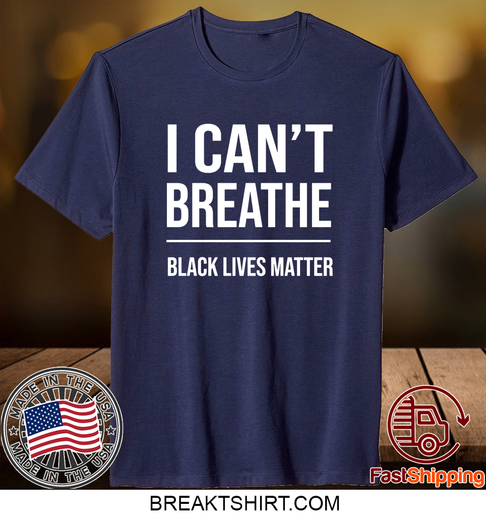 Bubba Wallace Nascar I Can't Breathe Black Lives Matter Unisex Shirts - 2