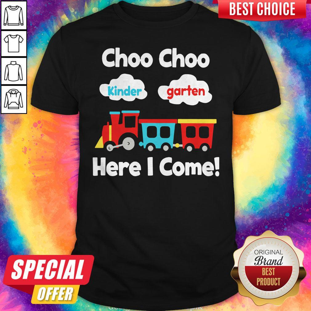 Choo Choo Kindergarten Here I Come Shirt - 1