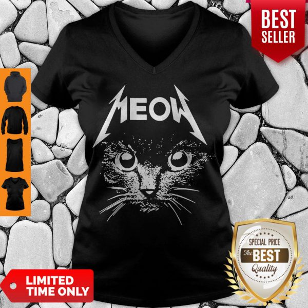 Official Great Metallica Meowtalica Black Cat Shirt - 2