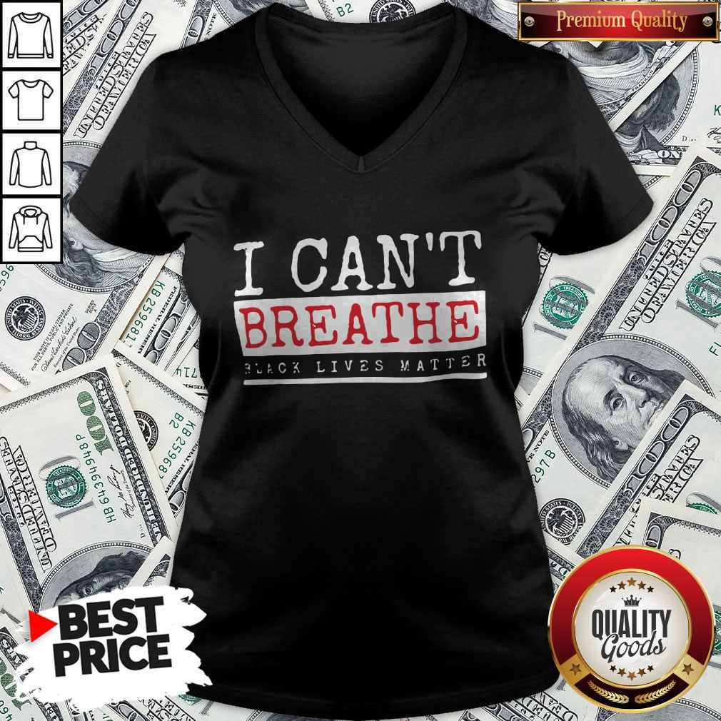 Official I Cant Breathe Black Lives Matter Shirt - 3