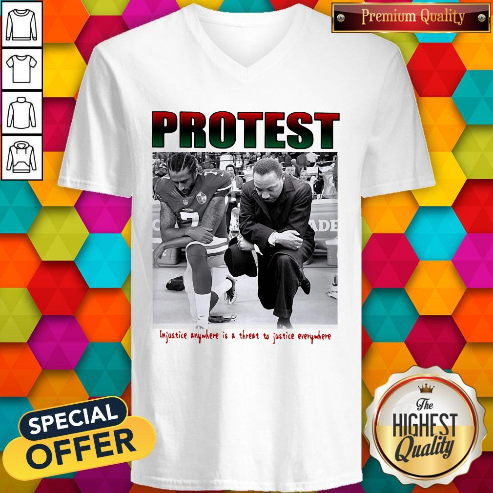 Protest Injustice Anywhere Is A Threat To Justice Everywhere Shirt - 2