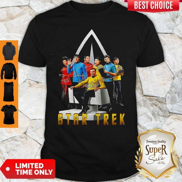Official Star Trek Signature Shirt - 1