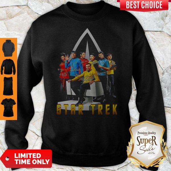 Official Star Trek Signature Shirt - 2