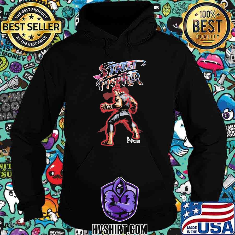 Dragon ball 7 street fighter akuma shirt