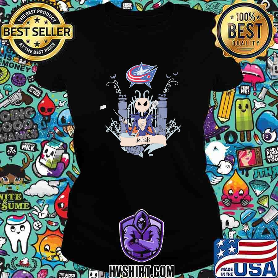 Halloween jack skellington blue jackets s Ladiestee