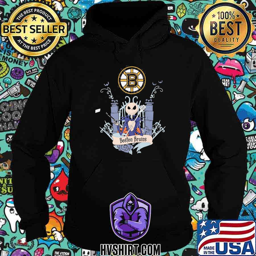 Halloween jack skellington boston bruins shirt