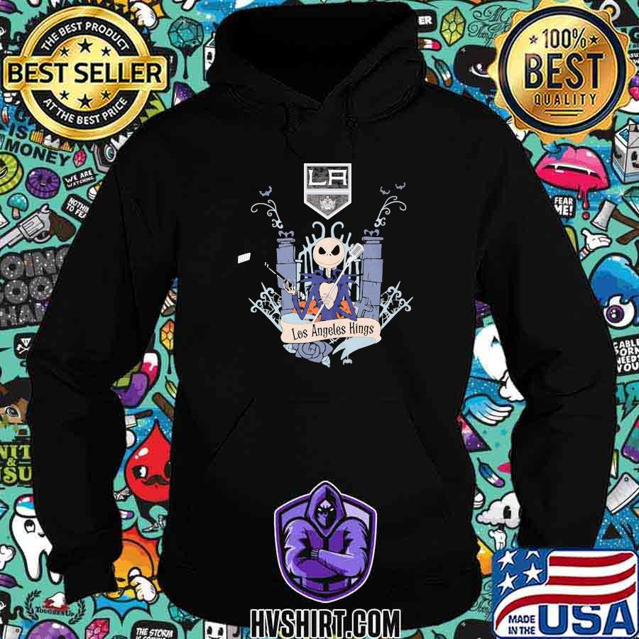 Halloween jack skellington los angeles kings shirt