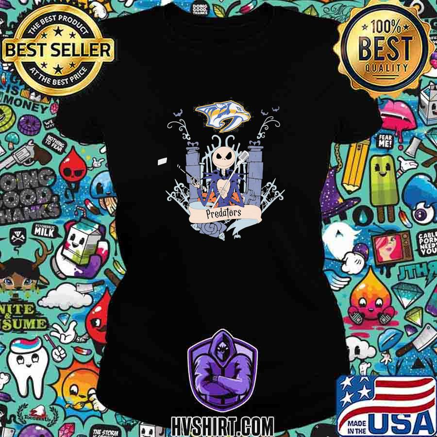 Halloween jack skellington nashville predators s Ladiestee