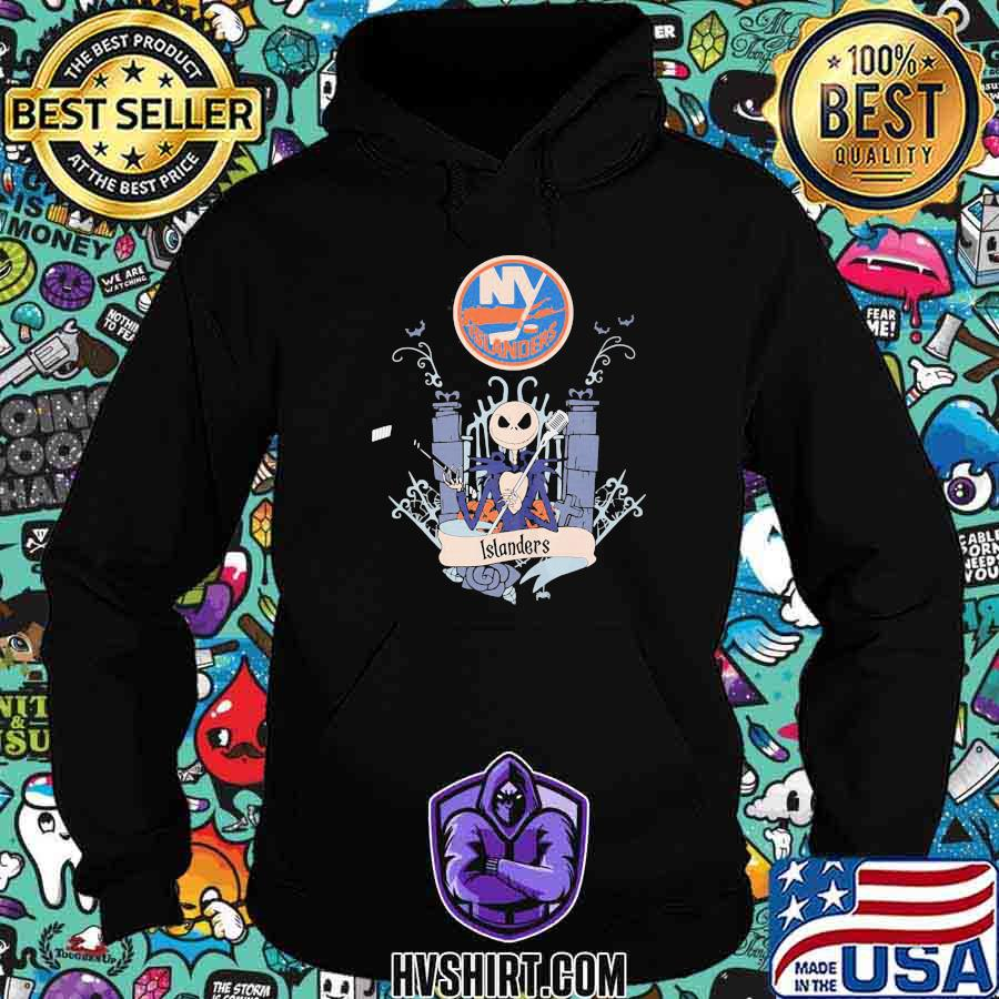 Halloween jack skellington new york islanders shirt