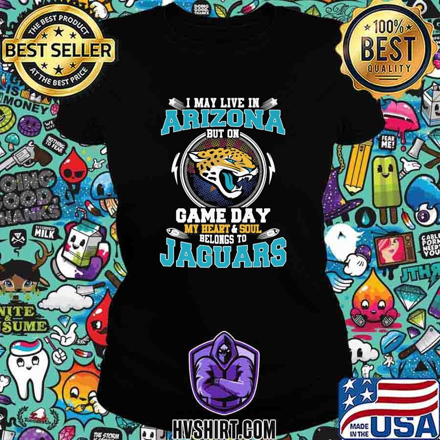 I may live in arizona but on game day my heart and soul belongs to jaguars s Ladiestee