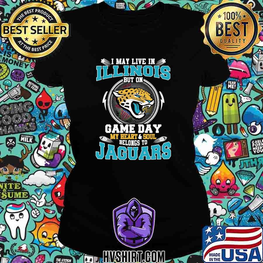 I may live in illinois but on game day my heart and soul belongs to jaguars s Ladiestee