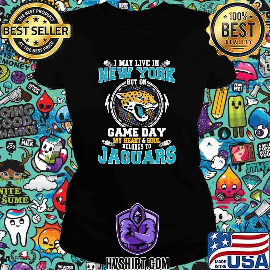 I may live in new york but on game day my heart and soul belongs to jaguars s Ladiestee