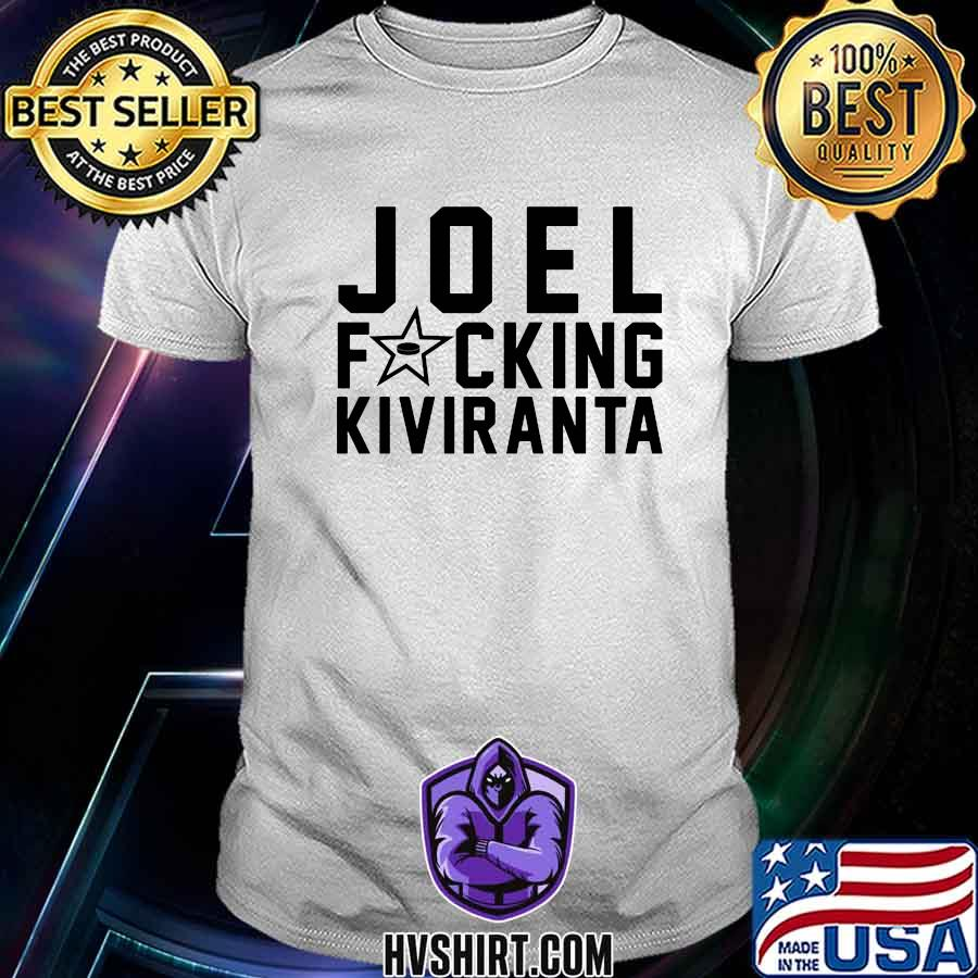 Joel fucking kiviranta hockey shirt