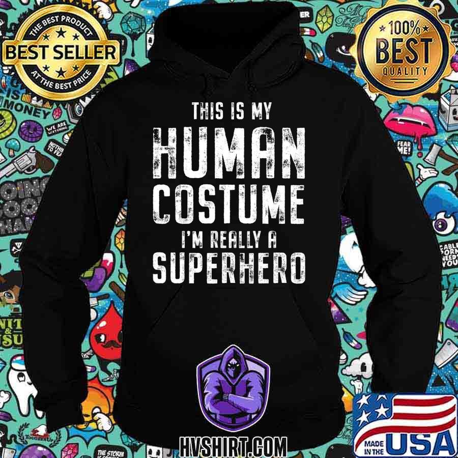 My Human Costume Funny Vintage Halloween Costume T-Shirt