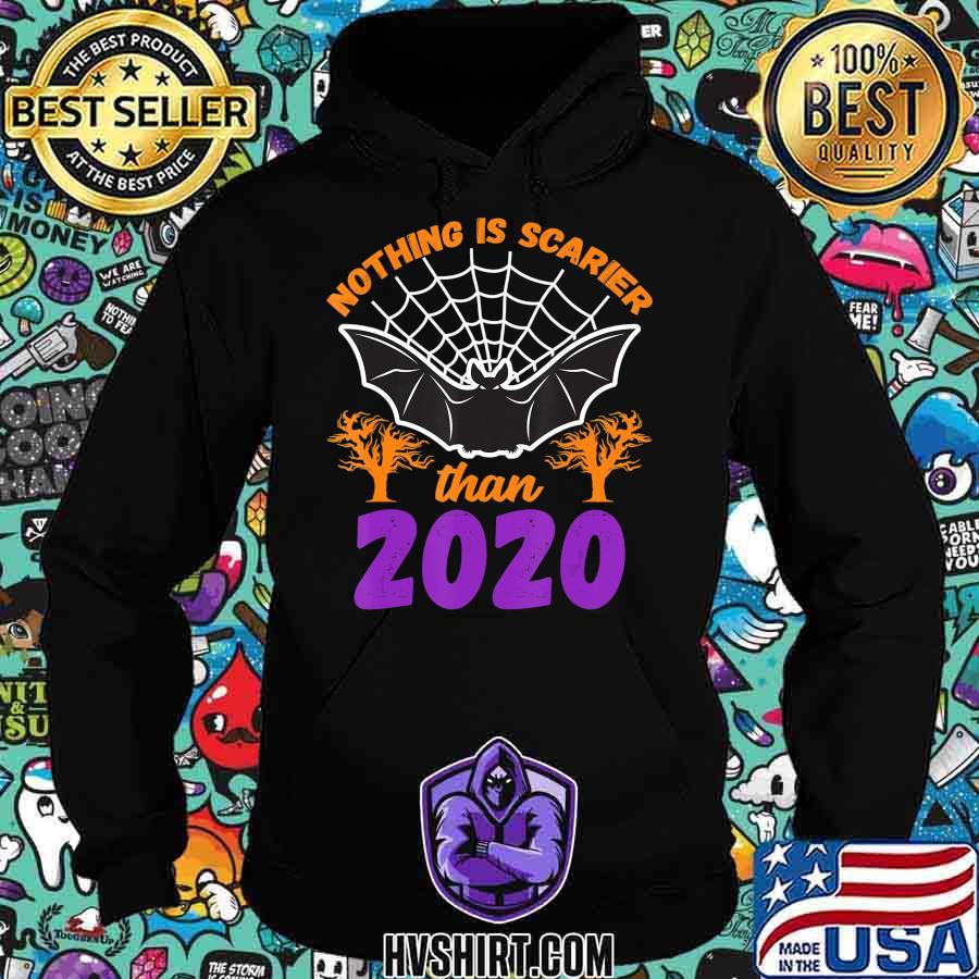 Nothing Is Scarier Than 2020 Halloween Bat T-Shirt T-Shirt