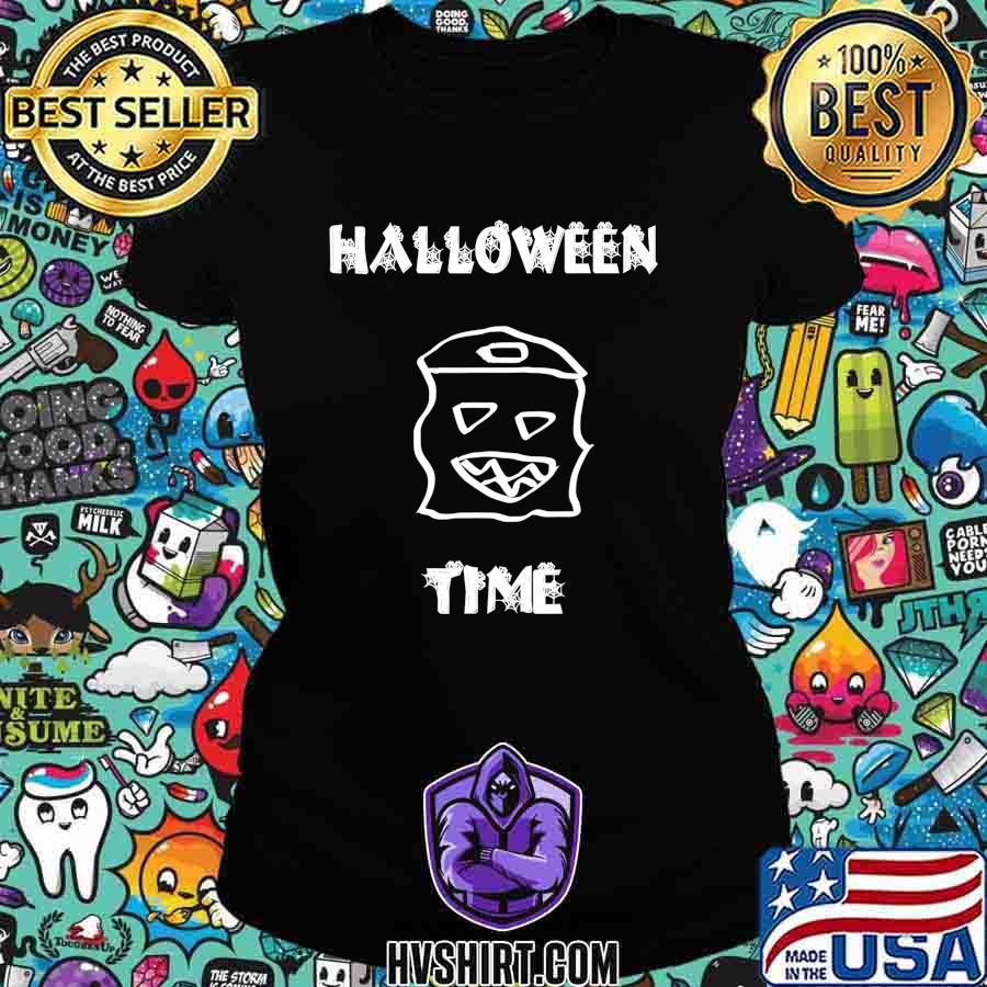 Official Halloween time boo T-Shirt Ladiestee