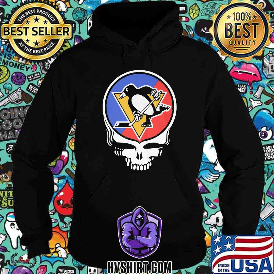 Pittsburgh penguins the grateful dead skull shirt
