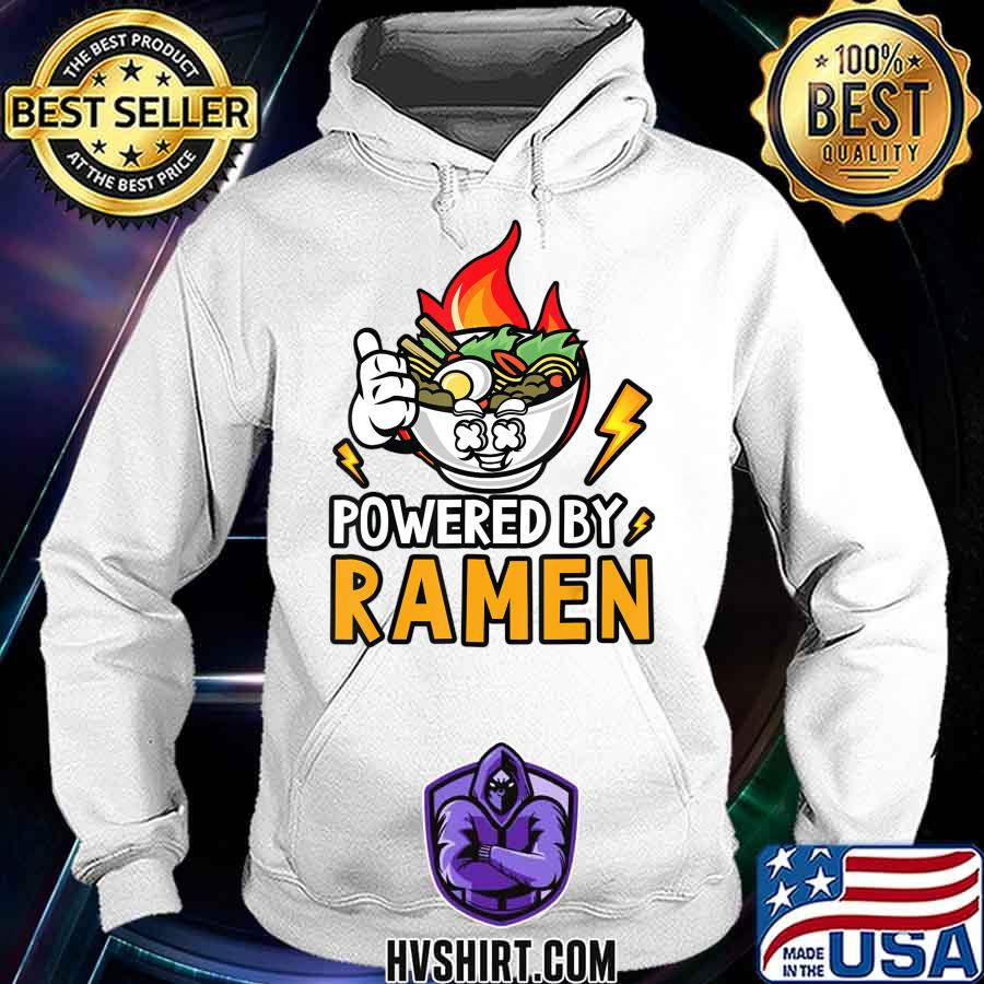 Powered By Ramen - Japanese noodles bowl T-Shirt