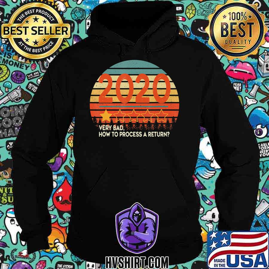 Retro Vintage Sunset 2020 Very Bad How To Process a Return T-Shirt