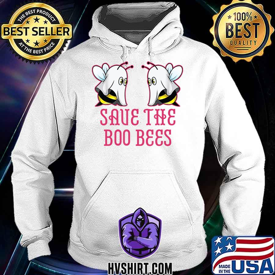 Save The Boo Bees T-Shirt Breast Cancer Awareness Halloween T-Shirt