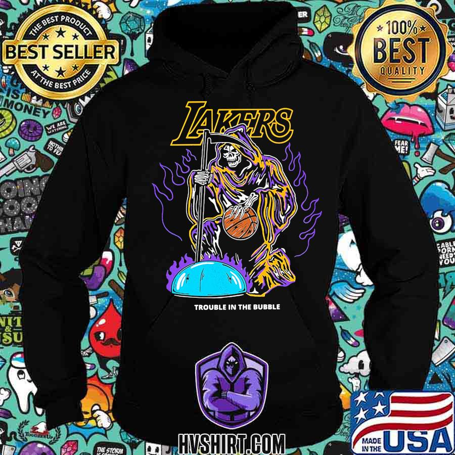 Skeleton death los angeles lakers trouble in the bubble s Hoodie