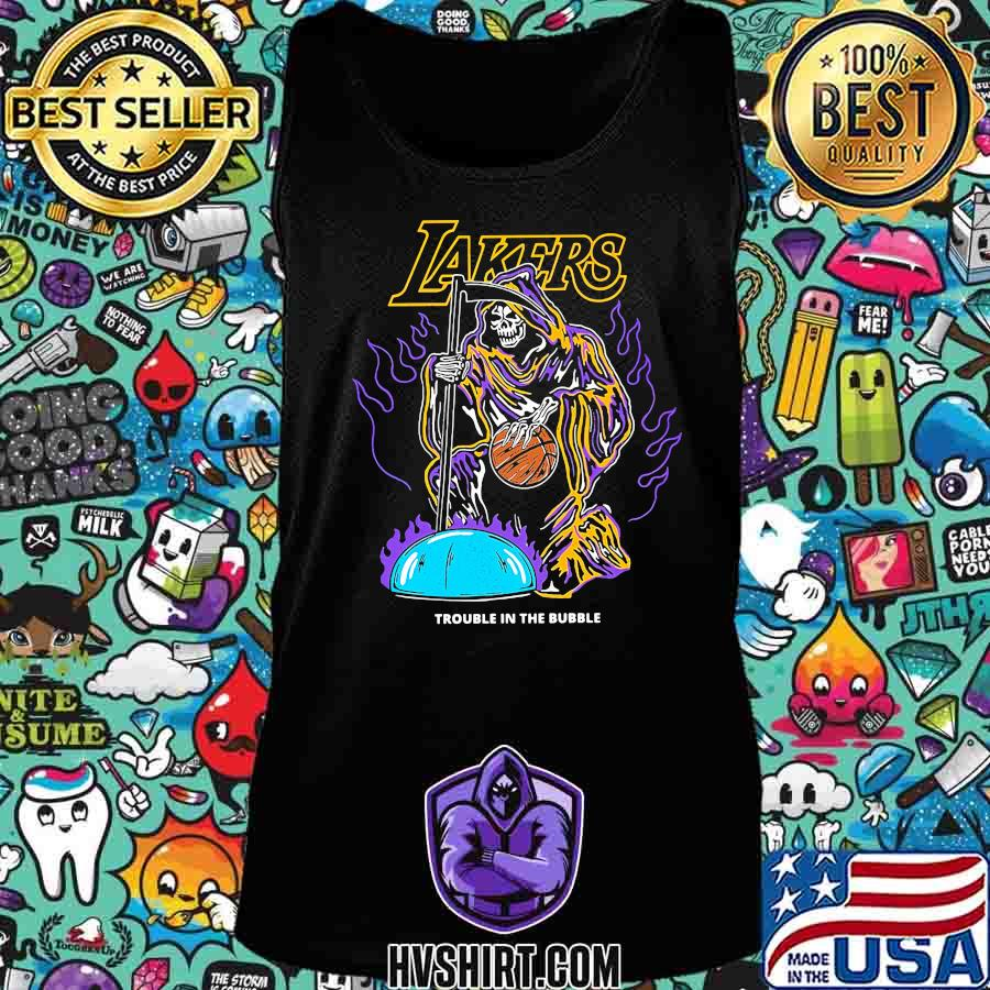 Skeleton death los angeles lakers trouble in the bubble s Tank Top