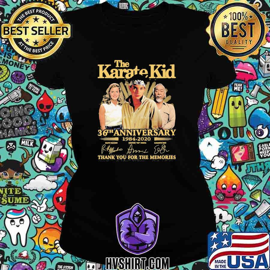 The karate kid 36th anniversary 1984 2020 thank for the memories signatures s Ladiestee