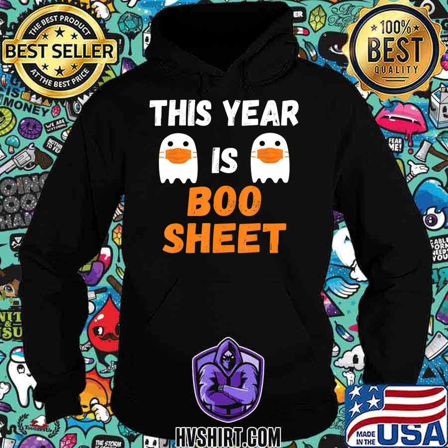 This Year Is Boo Sheet Ghost in Mask Halloween Custome T-Shirt
