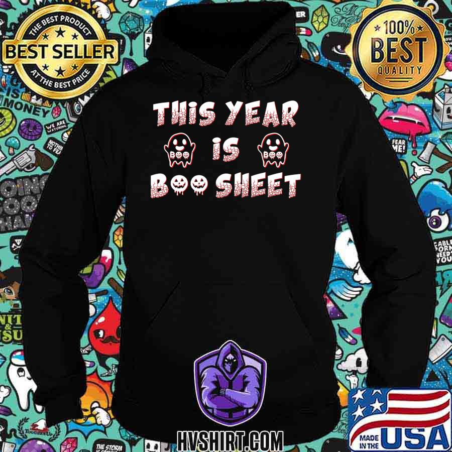 This Year Is Boo Sheet Shirt, Funny Ghost Boo Halloween 2020 T-Shirt