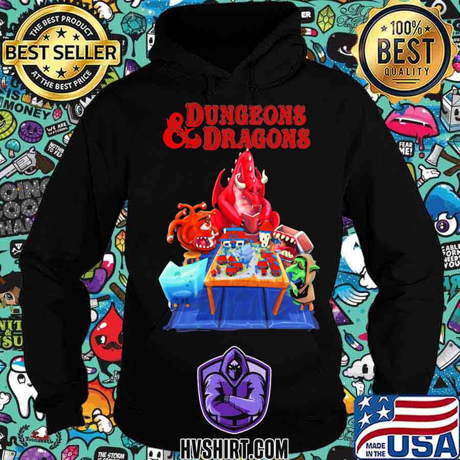 Dungeons and dragons monster s Hoodie