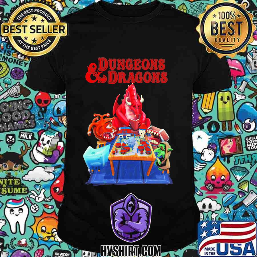 Dungeons and dragons monster shirt