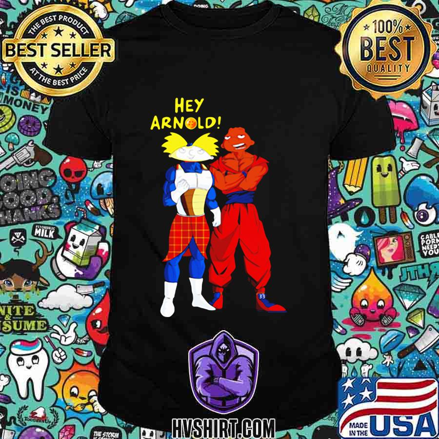 Hey arnold dragon ball 7 shirt