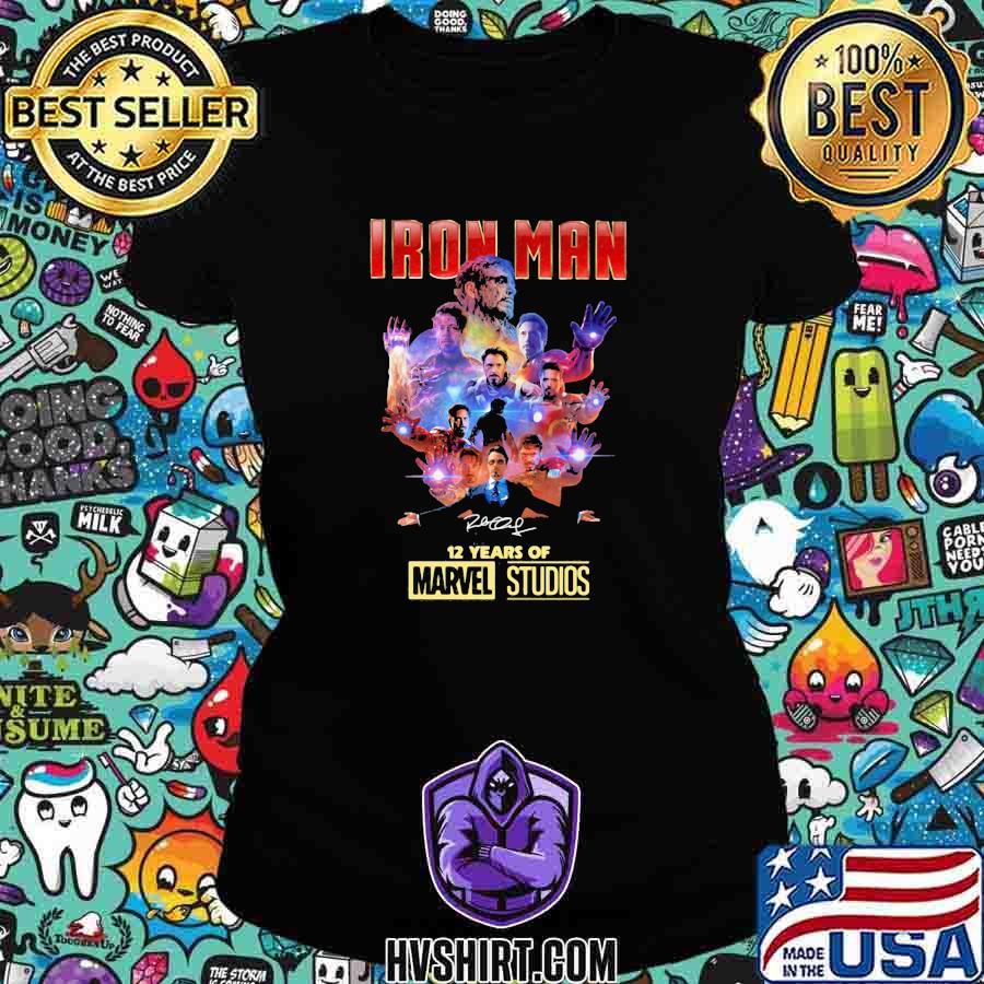 Iron man 12 years of marvel studios signature s Ladiestee