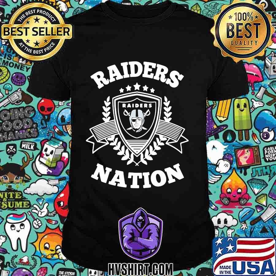Las vegas raiders nation shirt