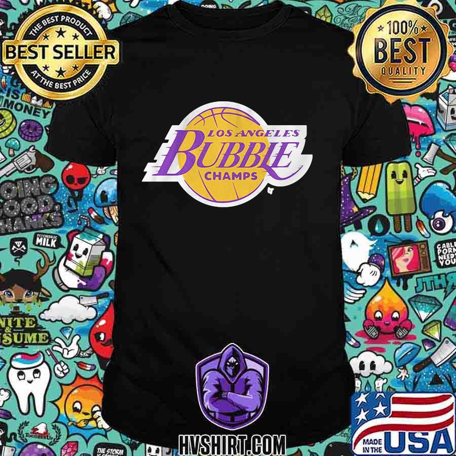 Los angeles bubble champs 2020 shirt