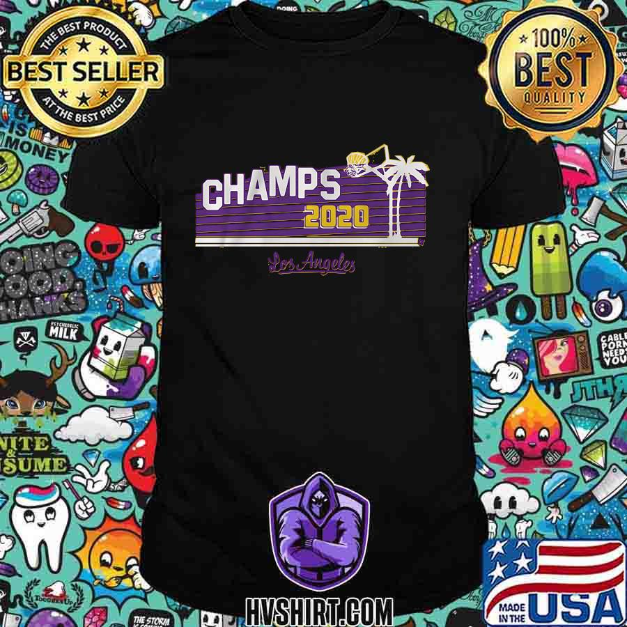Los angeles lakers champs 2020 shirt