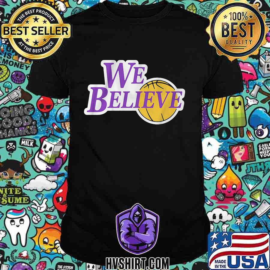 Los angeles lakers we believe champs 2020 shirt