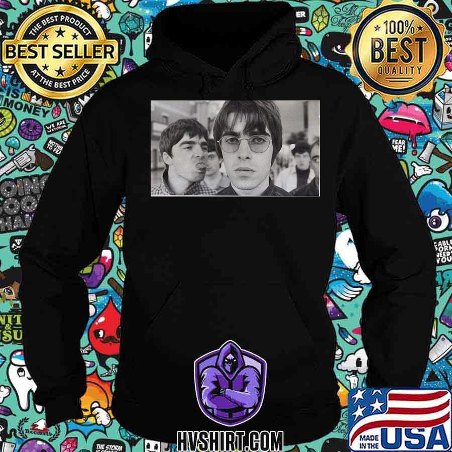 Oasis band picture vintage s Hoodie