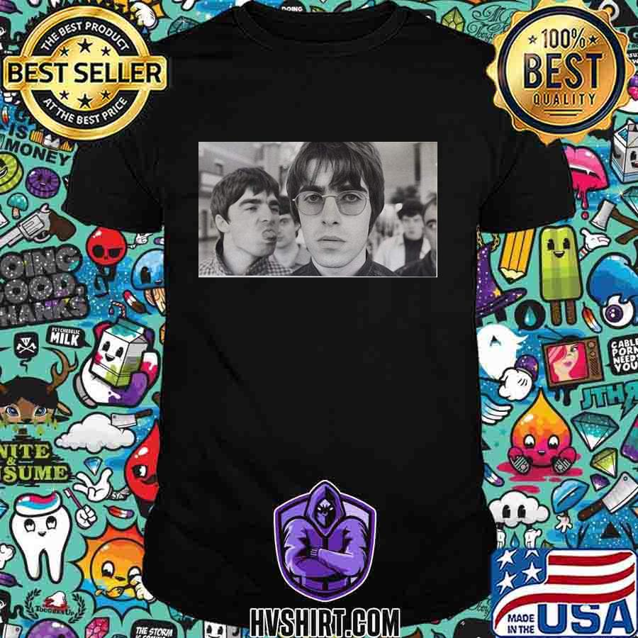 Oasis band picture vintage shirt