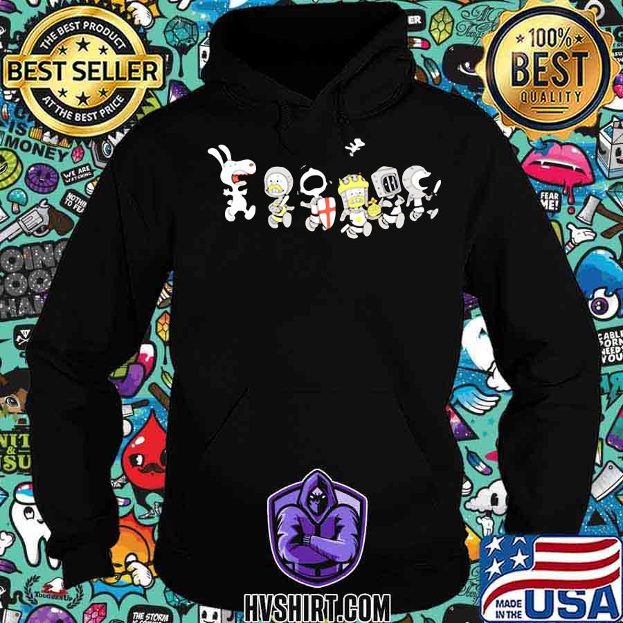 Snoopy and the peanuts characters combatant s Hoodie