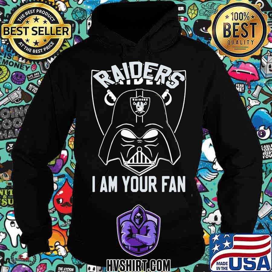 Star wars darth vader oklahoma raiders i am your fan s Hoodie