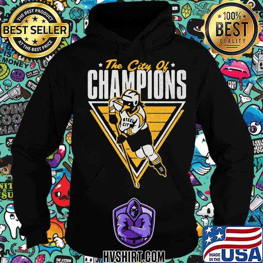 The city of champions pittsburgh steeler s Hoodie