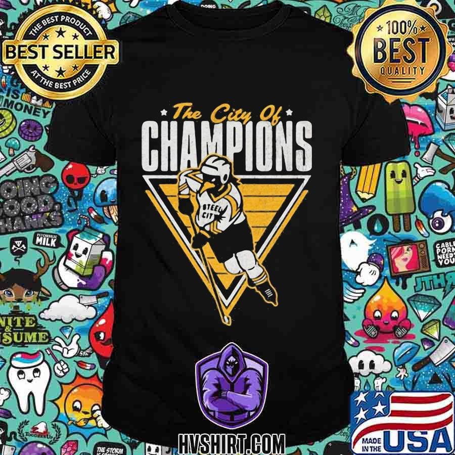 The city of champions pittsburgh steeler shirt