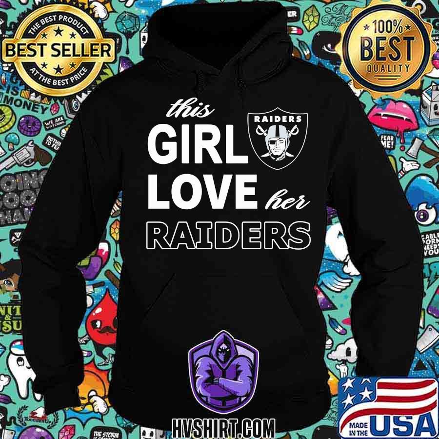 This girl love her oklahoma raiders s Hoodie