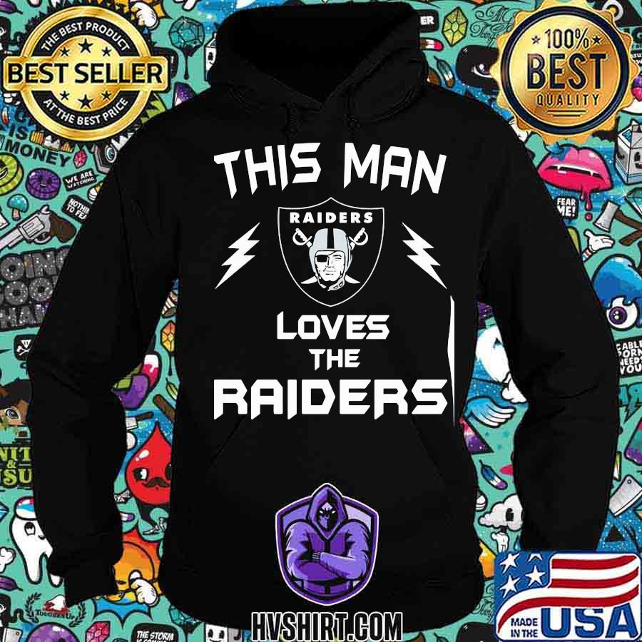 This man loves the oklahoma raiders s Hoodie