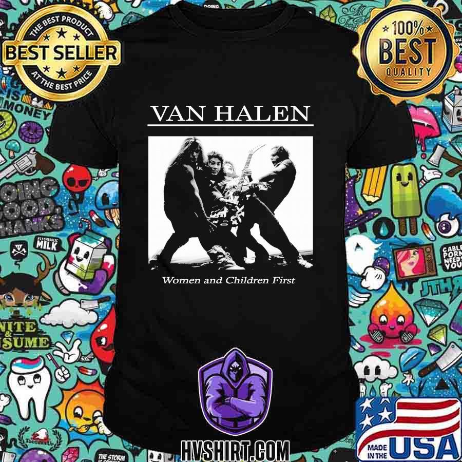 Van halen women and children first shirt