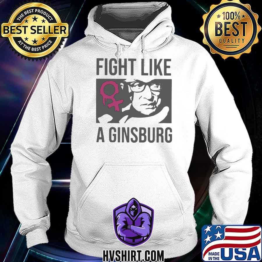 Fight Like A Ginsburg Women Feminist Shirt